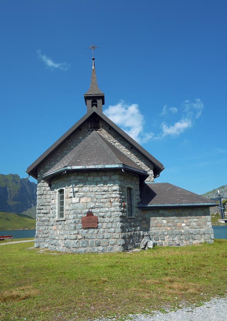 Fruttkapelle auf Melchsee Frutt<br>Im August 2020 wird sie 120 Jahre alt.