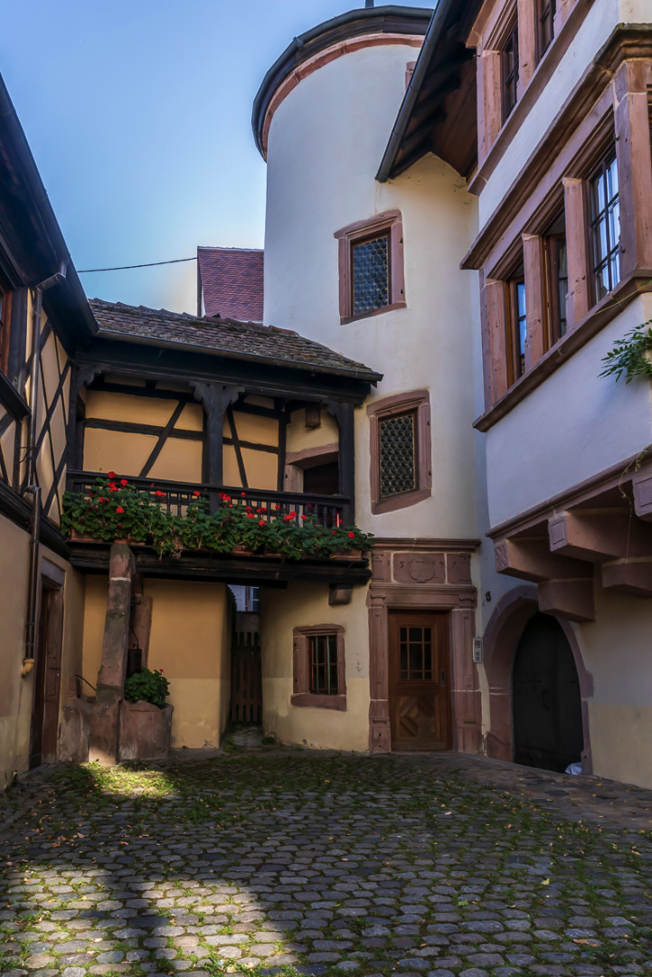 Häuser im Elsass
