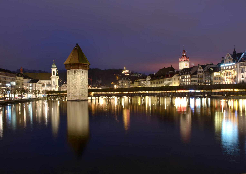 Luzern Nachtaufnahme