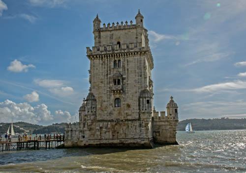 Torre de Belém<br>Wurde 1580 als Kerker für unbequeme Patrioten benutzt.