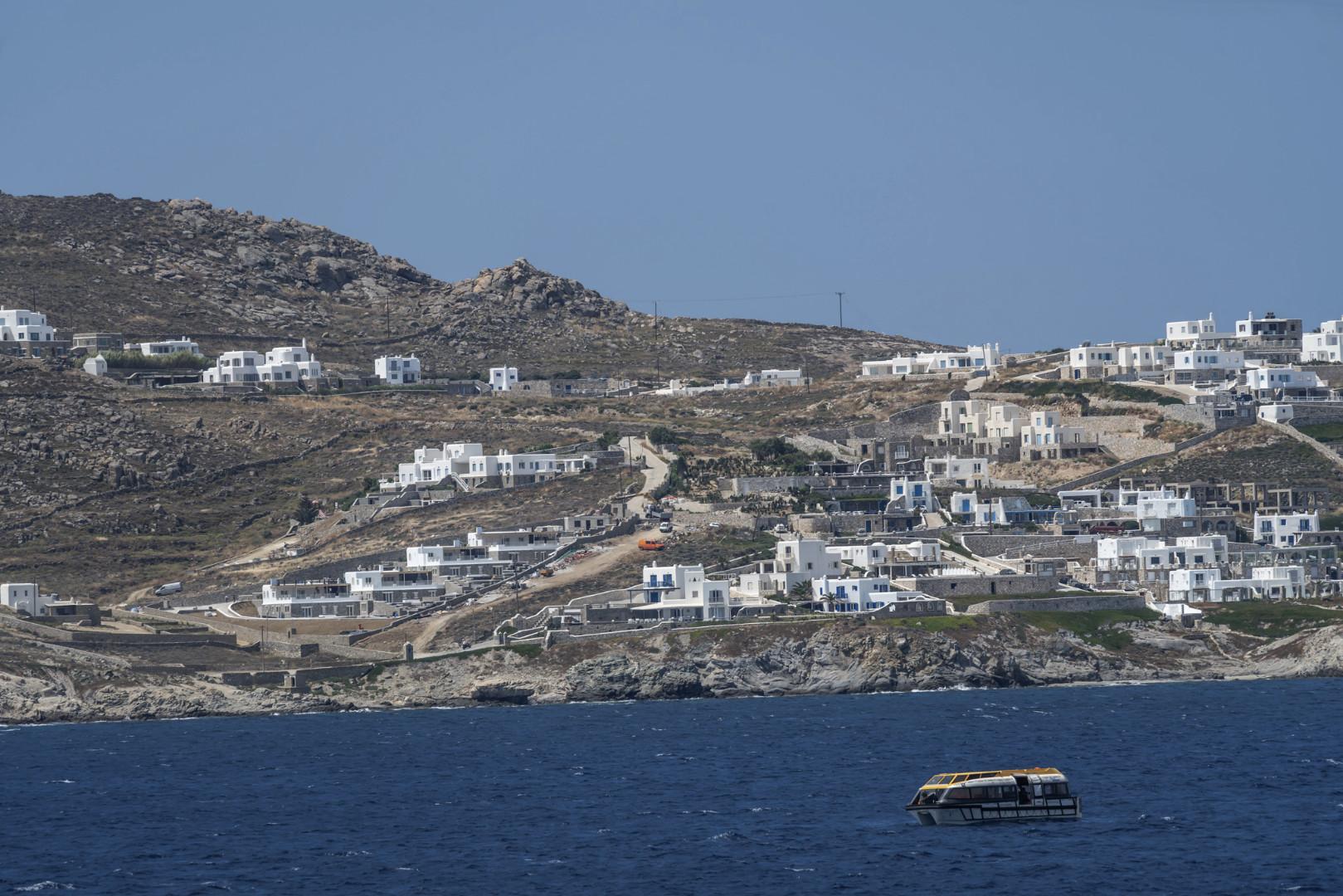 Mykonos<br>Hier wird noch weiter gebaut