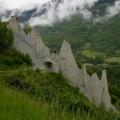Die Pyramiden von Euseigne (Wallis)