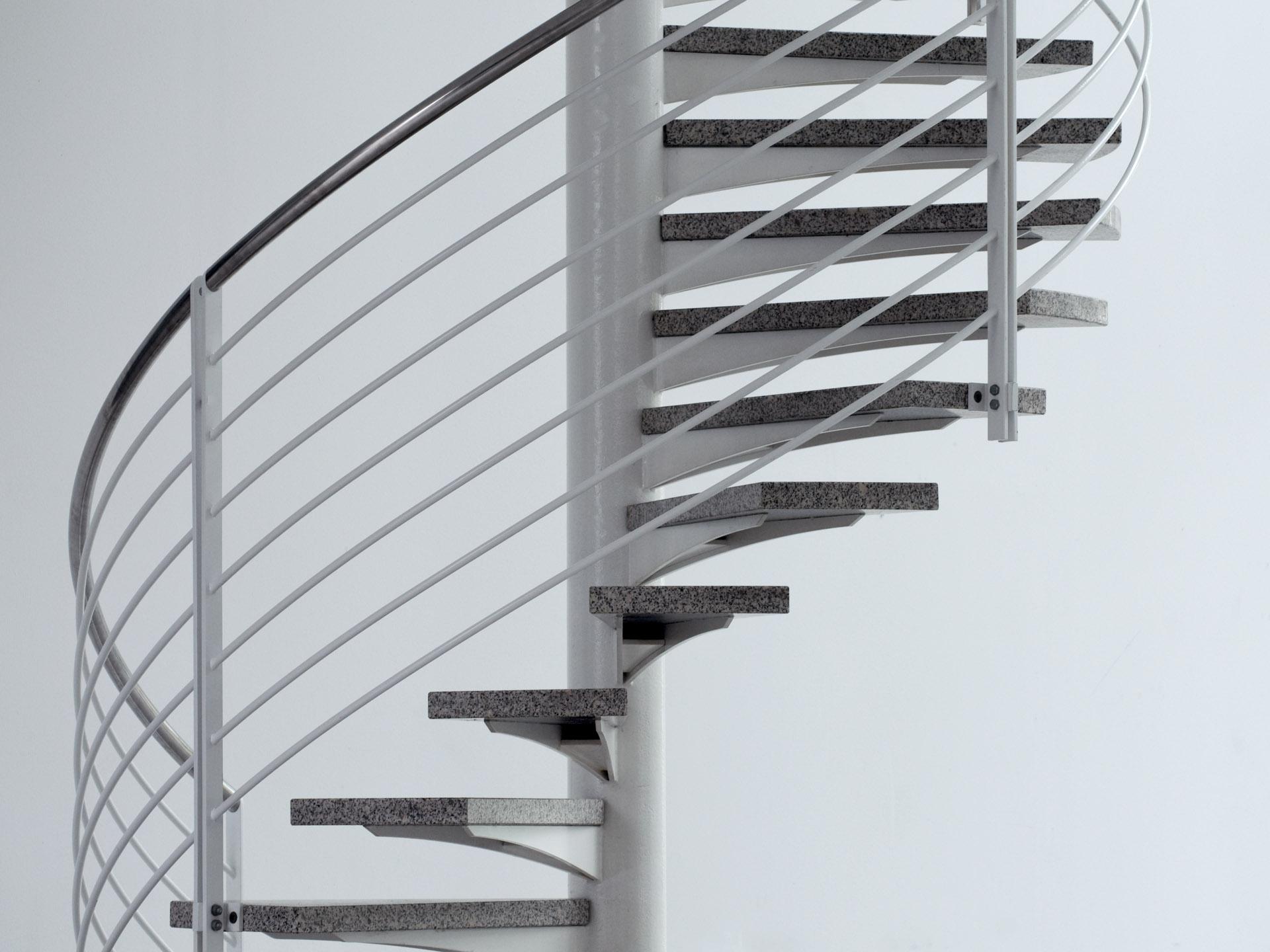 Schwungvolle Treppe